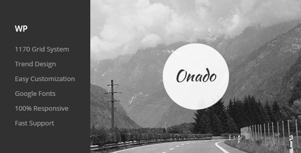 onado one page wordpress theme