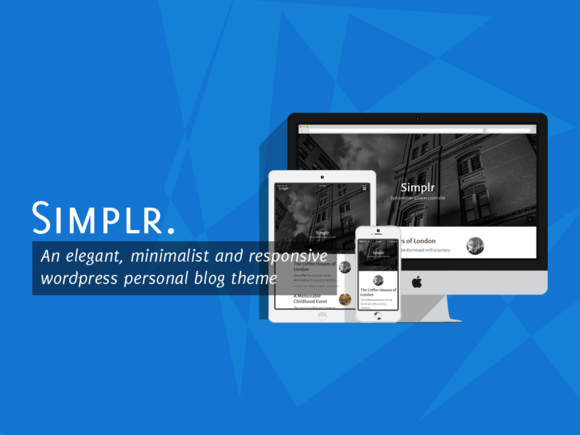 simplr. minimalist wp theme