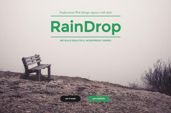 raindrop a multipurpose theme