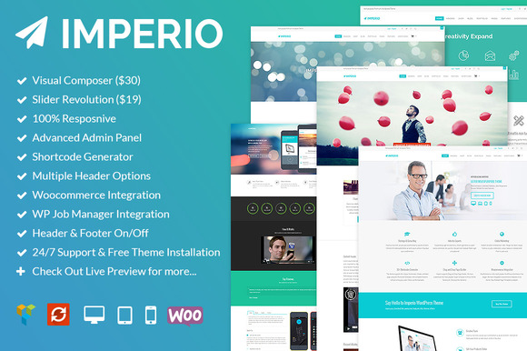 imperio multipurpose responsive wp