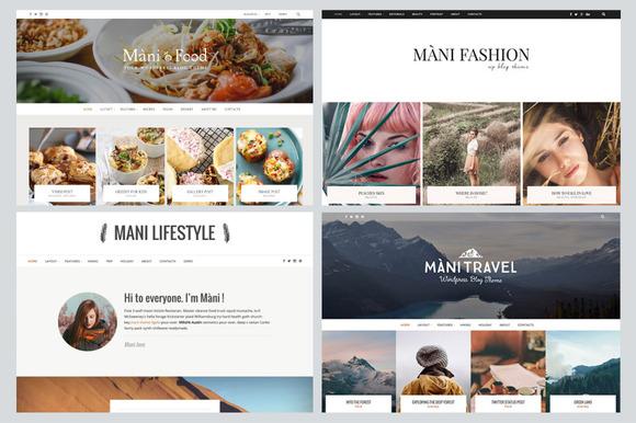 mani multipurpose wordpress blog