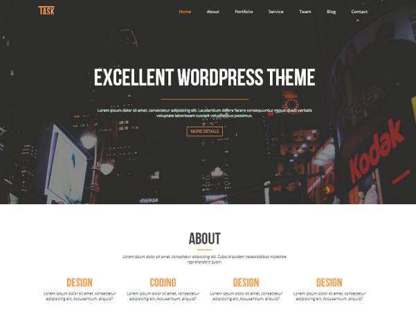 business one free wordpress theme