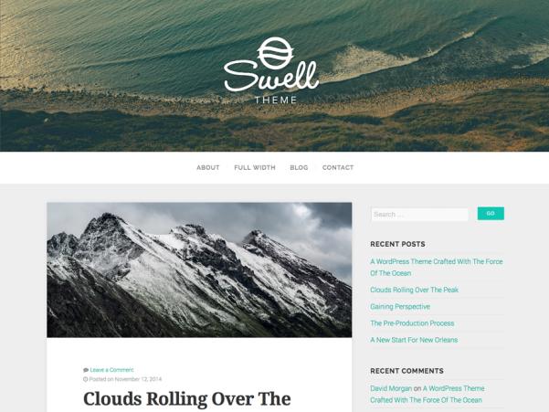 swell lite free wordpress theme