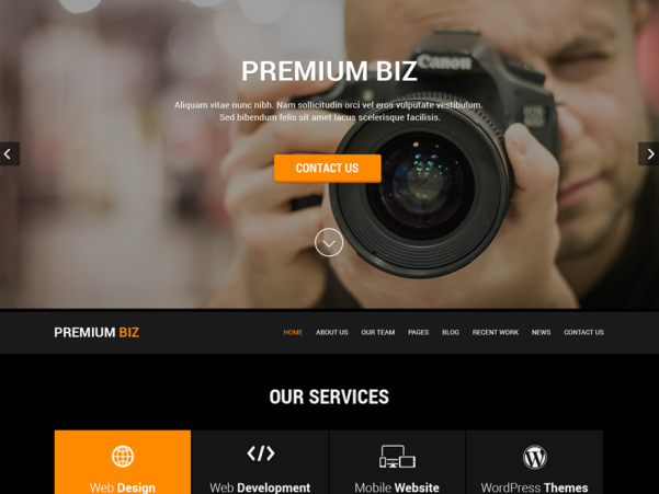 skt black free wordpress theme