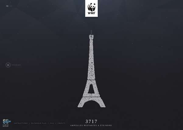 WWF - Earth Hour Paris