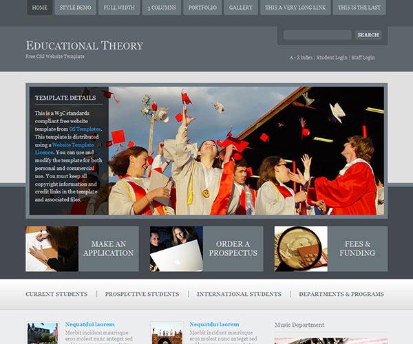 40 best education html website templates ginva