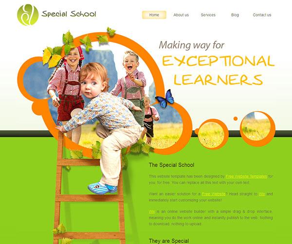 special school screenshot