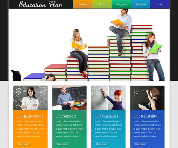 40 best education html website templates ginva
