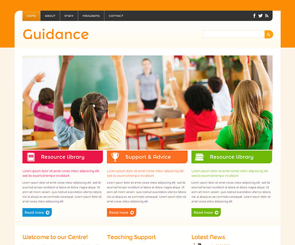 40 Best Education HTML Website Templates | Ginva
