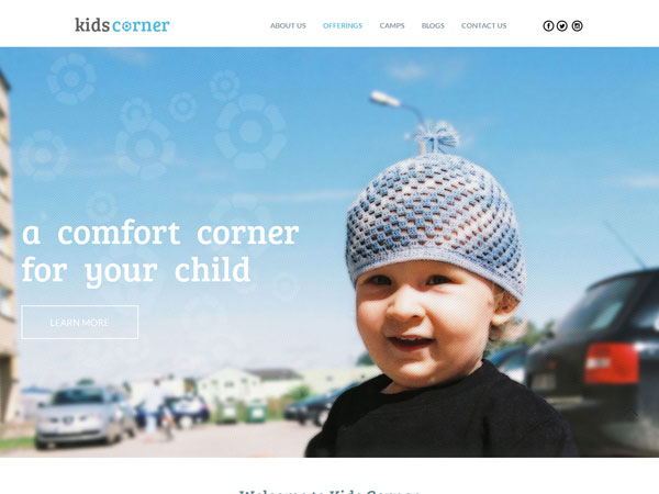 kids corner screenshot