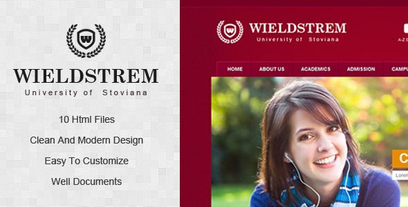 wieldstrem university screenshot