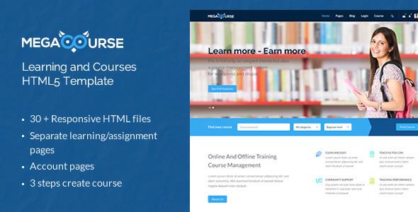40 Best Education HTML Website Templates | Ginva