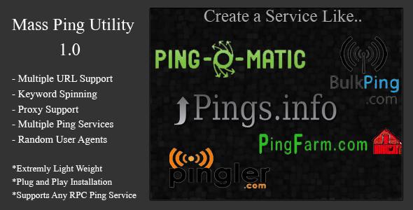 mass ping tool screenshot