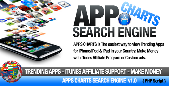 apps charts itunes search engine screenshot