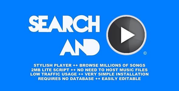 searchplay trendy player screenshot