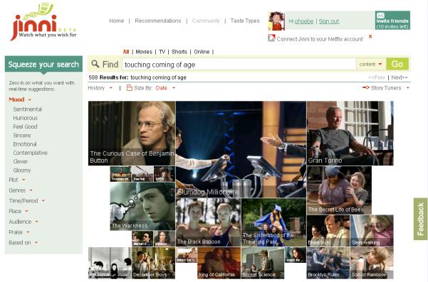 jinni search engine