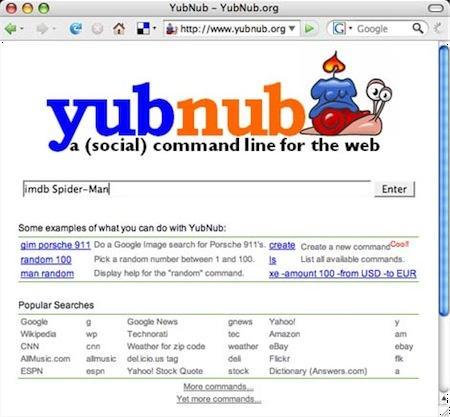 yubnub search engine