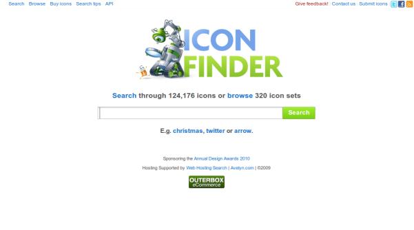 iconfinder search engine