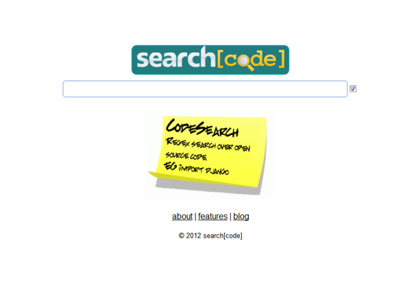 searchcode.com search engine