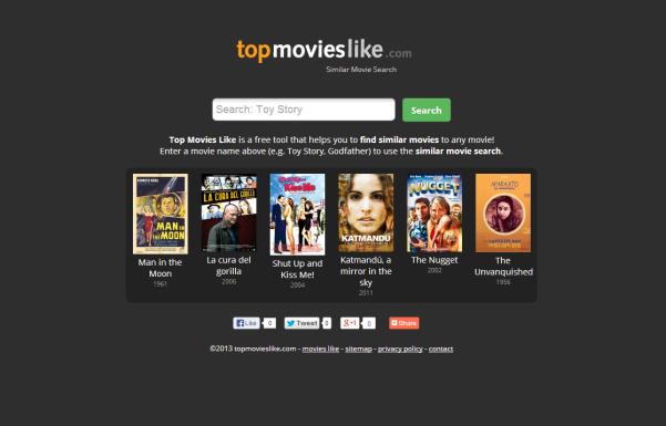 topmovieslike search engine