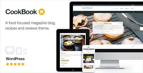 cookbook food magazine blog