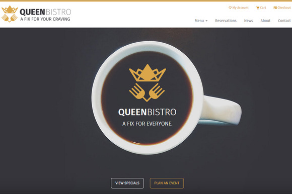 queen bistro restaurant and cafe
