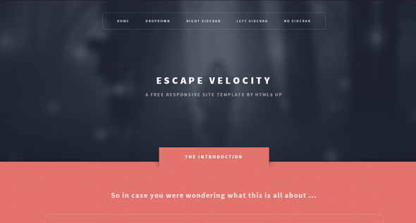 escape velocity screenshot