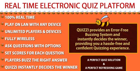 the electronic quiz platform