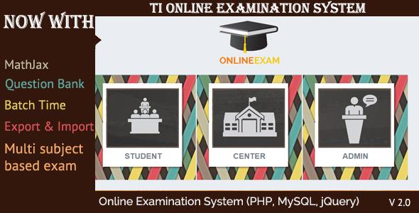 ti online examination system v2