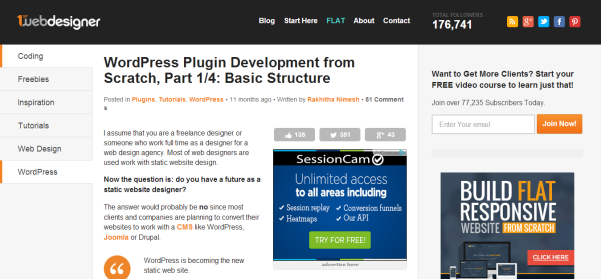 wordpress plugin development from scratch