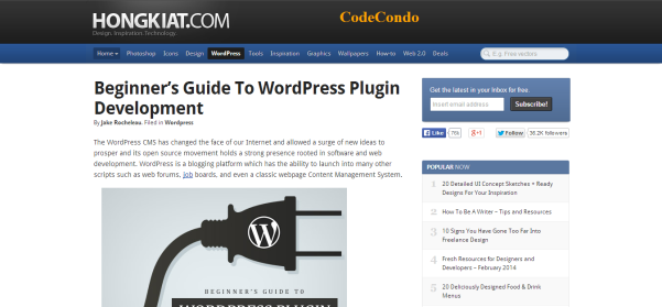 beginners guide to wordpress plugin development