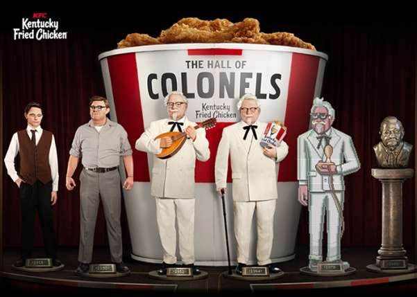 kfc the hall of colonels