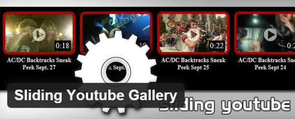 sliding youtube gallery plugin