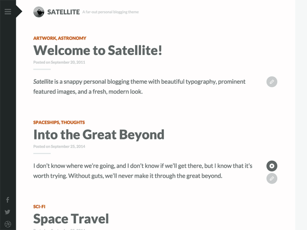 single page responsive wordpress theme