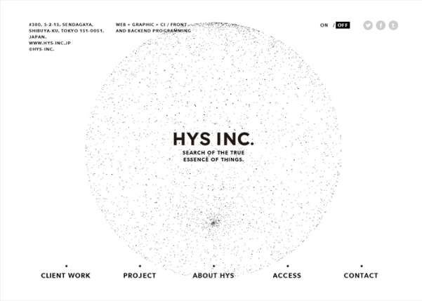 hys inc. business website design