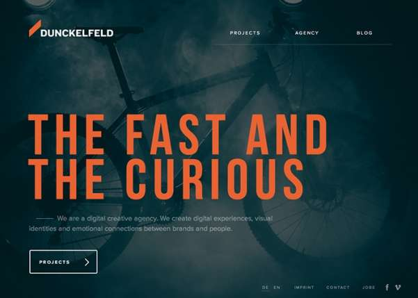 dunckelfeld business website design