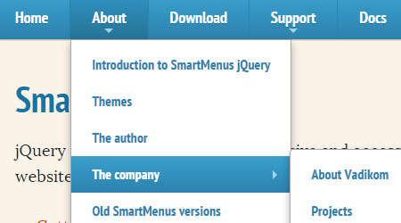 smart menus