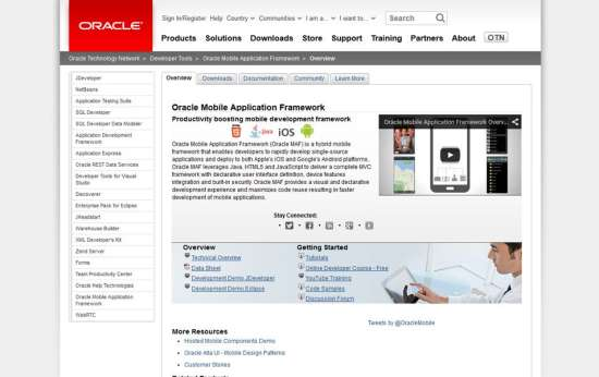 oracle application that is mobile