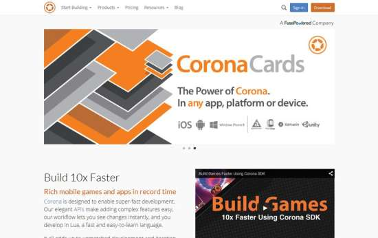 corona labs app that is mobile