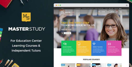 masterstudy education center wordpress theme