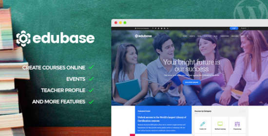 edubase program learning occasion wordpress theme