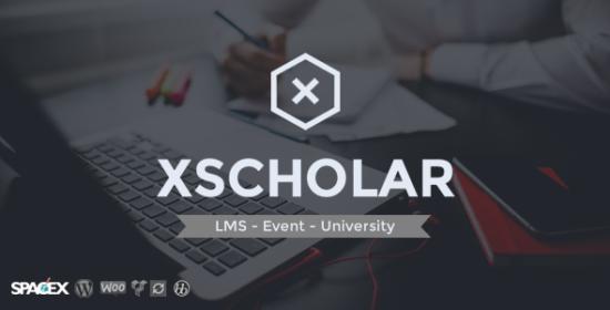 xscholar lms program event university wordpress