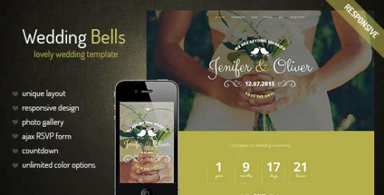 wedding bells wedding that is responsive