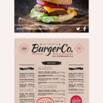 15 Beautiful Food Menu Templates for Restaurant & Cafe