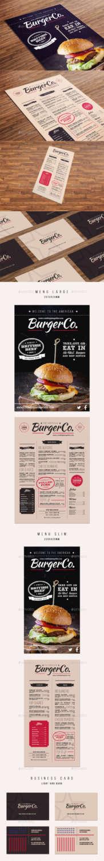 american burger menu