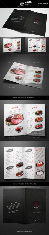 newyorker restaurant menu