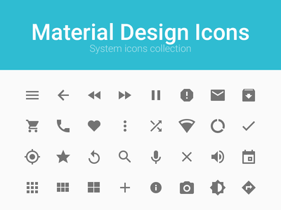 material design icons