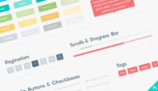 flat ui user interface kit