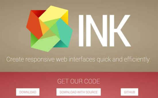 ink user interface kit