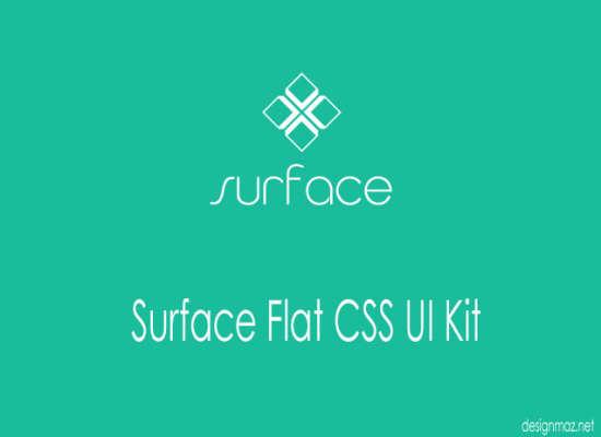 surface flat css ui kit